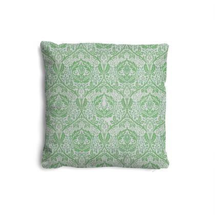 Pillows Set - William Morris' Golden Bough Green Remix