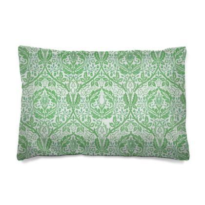 Pillow Case JAPAN - William Morris' Golden Bough Green Remix