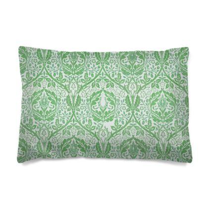 Pillow Cases Sizes - William Morris' Golden Bough Green Remix