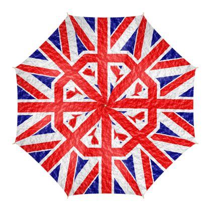 Umbrella Union Jack Flag