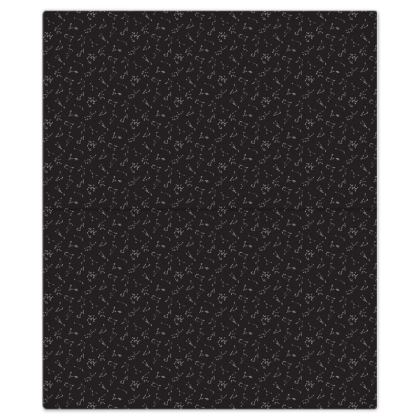 Zodiac Constellations Print Bed Sheets