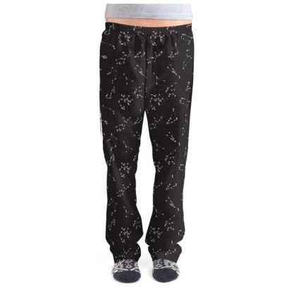 Zodiac Constellations Print Ladies Pyjama Bottoms