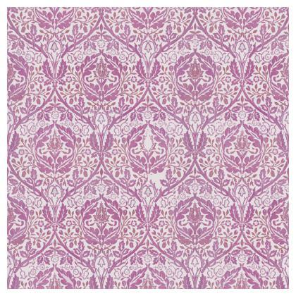 Luxury Cushions - William Morris' Golden Bough Pink Remix