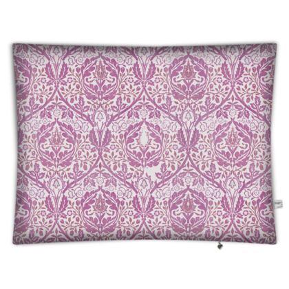 Floor Cushions - William Morris' Golden Bough Pink Remix