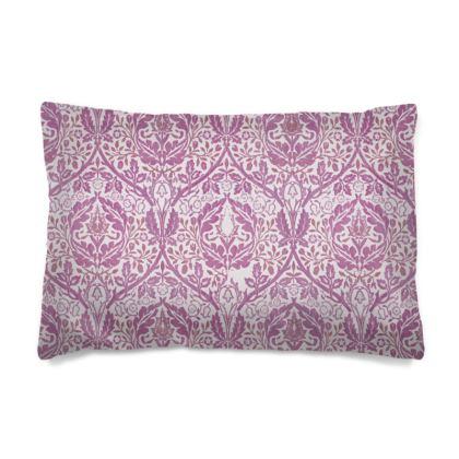 Pillow Cases Sizes - William Morris' Golden Bough Pink Remix