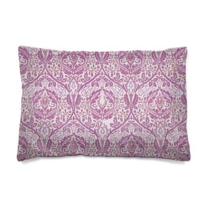 Pillow Case JAPAN - William Morris' Golden Bough Pink Remix