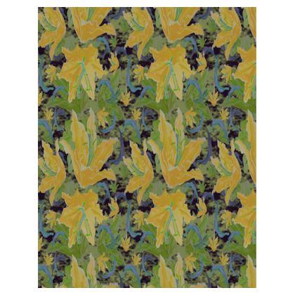 Trays [yellow, green]  Lily Garden  Sylph