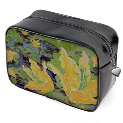 Wash Bags [yellow, green]  Lily Garden  Sylph