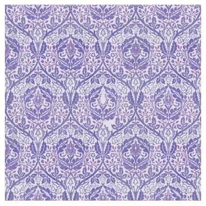 Bolster Cushion - William Morris' Golden Bough Purple Remix