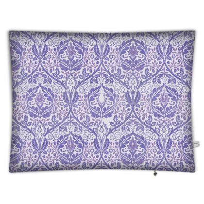 Floor Cushions - William Morris' Golden Bough Purple Remix