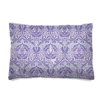 Pillow Case JAPAN - William Morris' Golden Bough Purple Remix