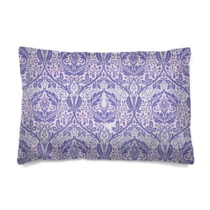 Pillow Cases Sizes - William Morris' Golden Bough Purple Remix