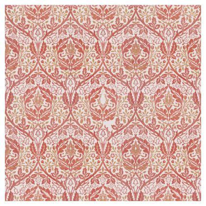 Cushions - William Morris' Golden Bough Red Remix