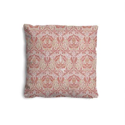 Pillows Set - William Morris' Golden Bough Red Remix