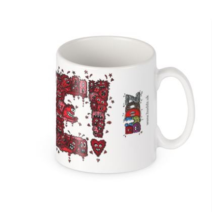 Quirky Creature Mug with Love