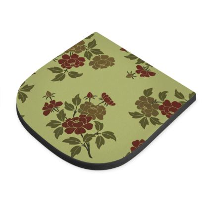 Seat Pad - Japanese flowers and leaves pattern Remaster