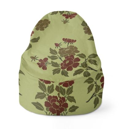 Bean Bags - Japanese flowers and leaves pattern Remaster
