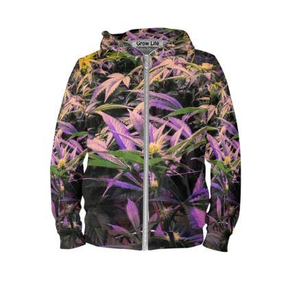 Colorful indoor hoodie