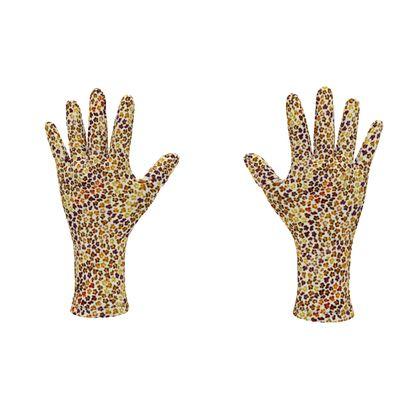 Leopard Skin Collection Fleece Gloves