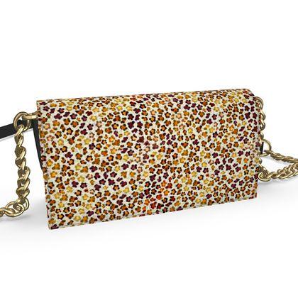 Leopard Skin Collection Oana Evening Bag
