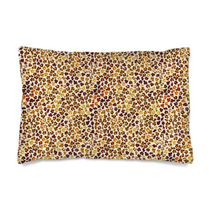 Leopard Skin Collection Silk Pillow Case