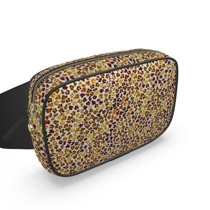 Leopard Skin Collection Belt Bag