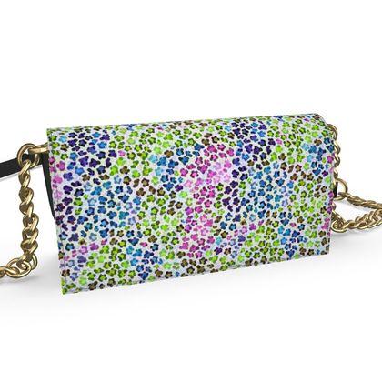 Leopard Skin Multicoloured Collection Oana Evening Bag
