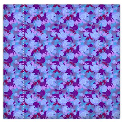 Blue Duvet Covers  Field Poppies  Midnight [blue]
