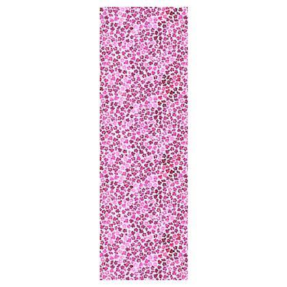 Leopard Skin in Magenta Collection Mens Silk Pyjama Bottoms