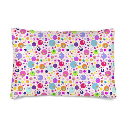 Atomic Collection Silk Pillow Case
