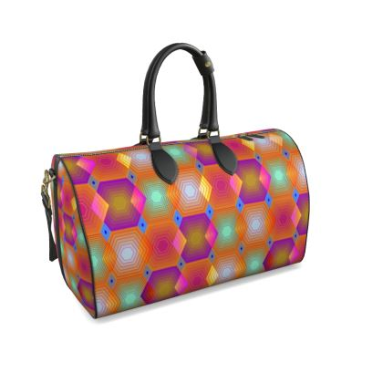 Geometrical Shapes Collection Duffle Bag