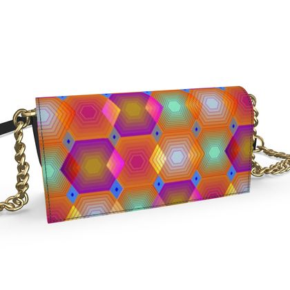Geometrical Shapes Collection Oana Evening Bag