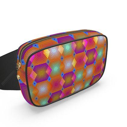 Geometrical Shapes Collection Belt Bag