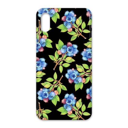 Wild Blueberries iPhone X Case