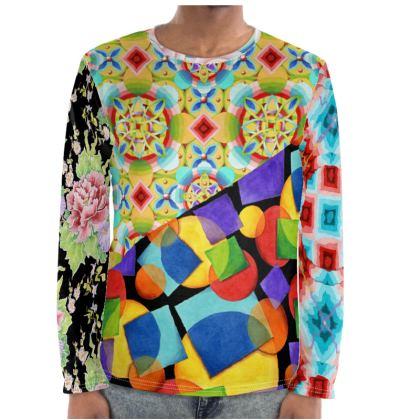 Patchwork Kitsch Long Sleeve Shirt