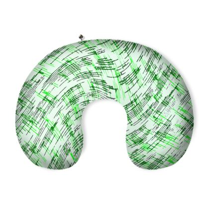 Neck Pillow - Petri Family Green Remix