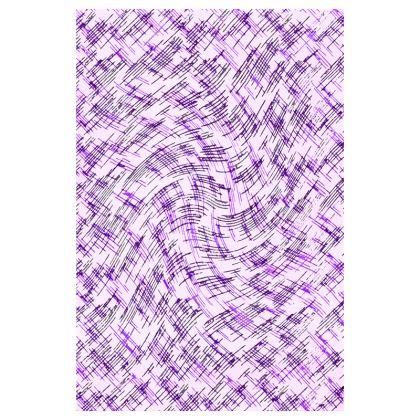 Luggage Tags - Petri Family Purple Remix