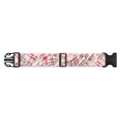 Luggage Strap - Petri Family Red Remix