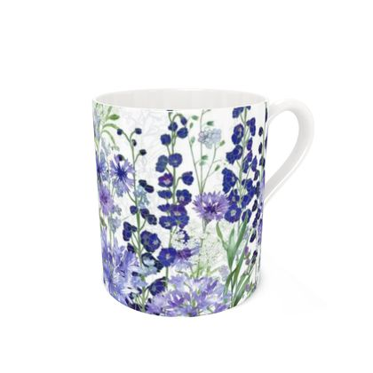 Bone China Mug - Agapanthus Meanderings