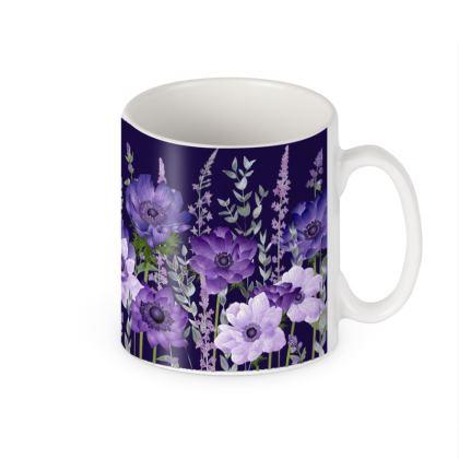 Ceramic Mug - The Evening Anemone Patch