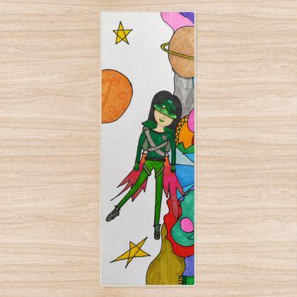 Pop Colourfull Elisavet in Space Yoga Mat
