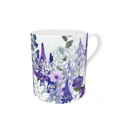 Bone China Mug - Daydream in Blue