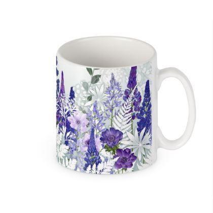 Ceramic Mug - Daydream in Blue