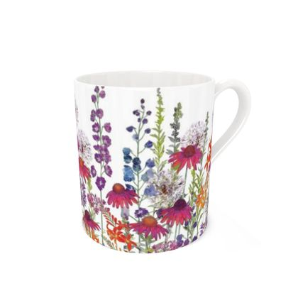 Bone China Mug - Summertime Symphony (2)