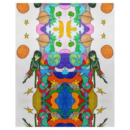 Pop Colourfull Elisavet in Space Bean Bags