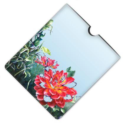 Leather iPad Case - Illuminating Flourish