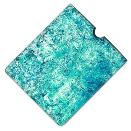 Leather iPad Case - Glistening Waters