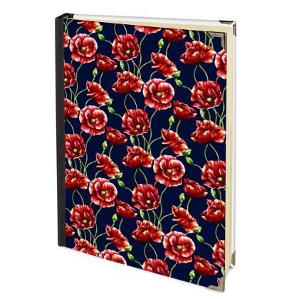 2022 Deluxe Diary - Poppy Passion