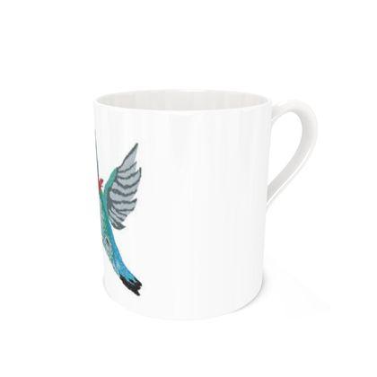 Bee Hummingbird [WHITE] Coffee Mugs