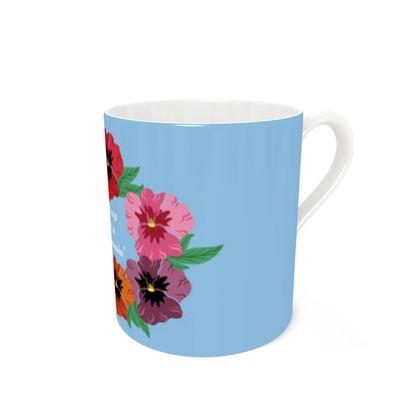Keep On Blooming Coffee Mugs